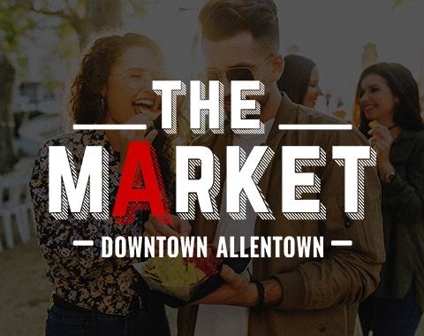 Downtown Allentown Market, PA