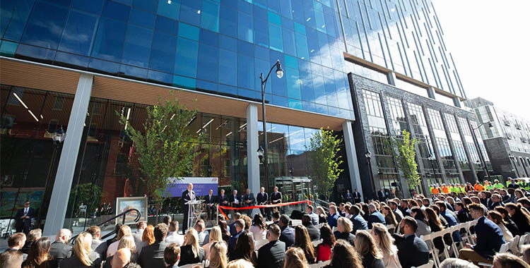 five city center ribbon cutting