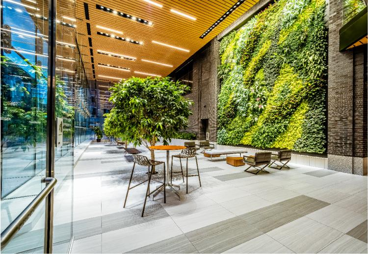 Five City Center Living Wall
