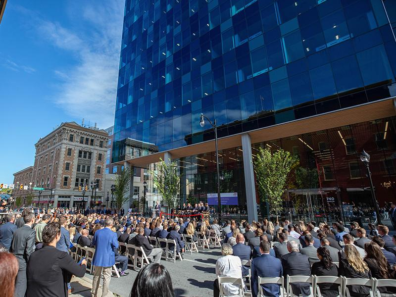 Five City Center ADP Ribbon Cutting