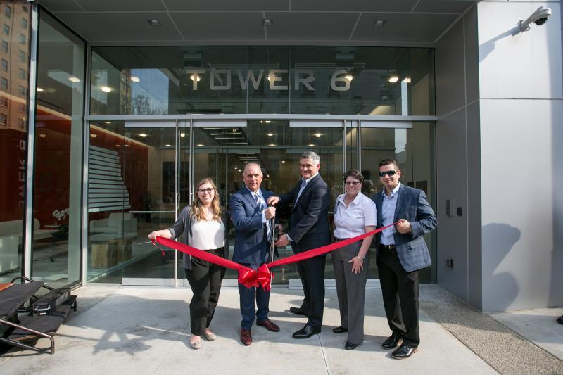 Tower 6 Ribbon-Cutting