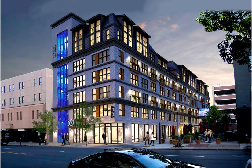 520 Hamilton Mixed Use Space