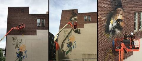 Mural on Allentown's ArtsWalk
