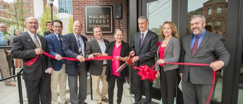 Walnut Street Commons Ribbon-Cutting Ceremony, Allentown, PA